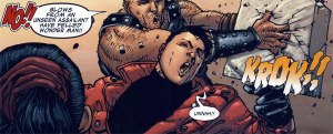 Wonder Man is the victim of Ares awesomeness.