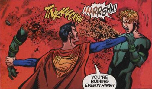 Superboy-Prime DC superheroes