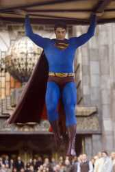 "BRANDON ROUTH stars as Superman in Warner Bros. Pictures' and Legendary Pictures' action adventure, ""Superman Returns."" PHOTOGRAPHS TO BE USED SOLELY FOR ADVERTISING, PROMOTION, PUBLICITY OR REVIEWS OF THIS SPECIFIC MOTION PICTURE AND TO REMAIN THE PROPERTY OF THE STUDIO. NOT FOR SALE OR REDISTRIBUTION. ALL RIGHTS RESERVED."